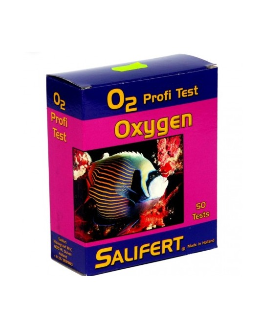 SALIFERT, TEST DE OXIGENO (o2)
