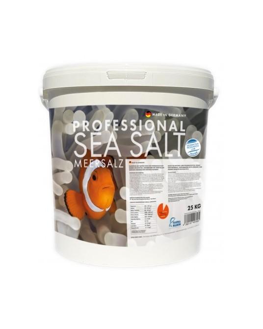 FM, PROFESSIONAL SEA SALT 25 KG CUBO ENVIADO